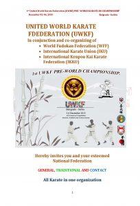 1° UWKF Pre-World Championship