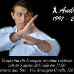 Tragedia nel mondo del karate italiano