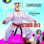 1° Campionato del Mondo Cadetti e Juniores IKU