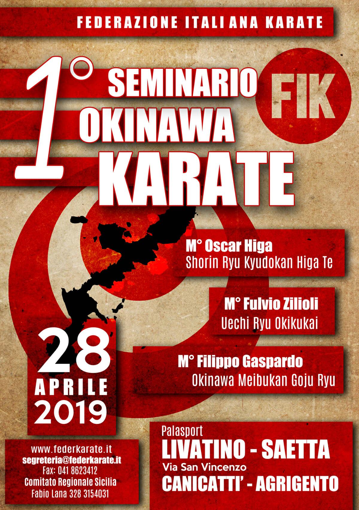 1° Seminario Nazionale di Okinawa Karate-Do