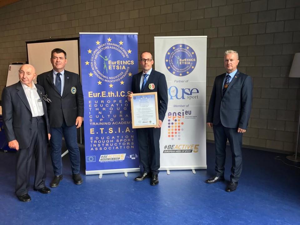 Certificazione europea di accademia nazionale alla FIK